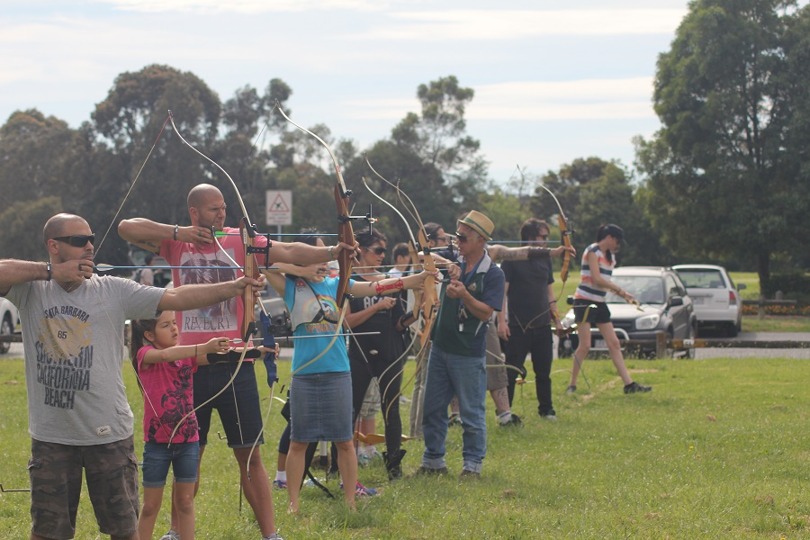 Introduction to archery course Yarra Bowmen